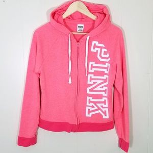 Victorias Secret Pink Hoodie Jacket Sweatshirt